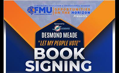 Desmon Meade Book Signing